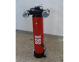 Hand-operated hydraulic pit jack - economic version