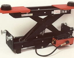 Shears hand-operated hydraulic lifting for four-column jack